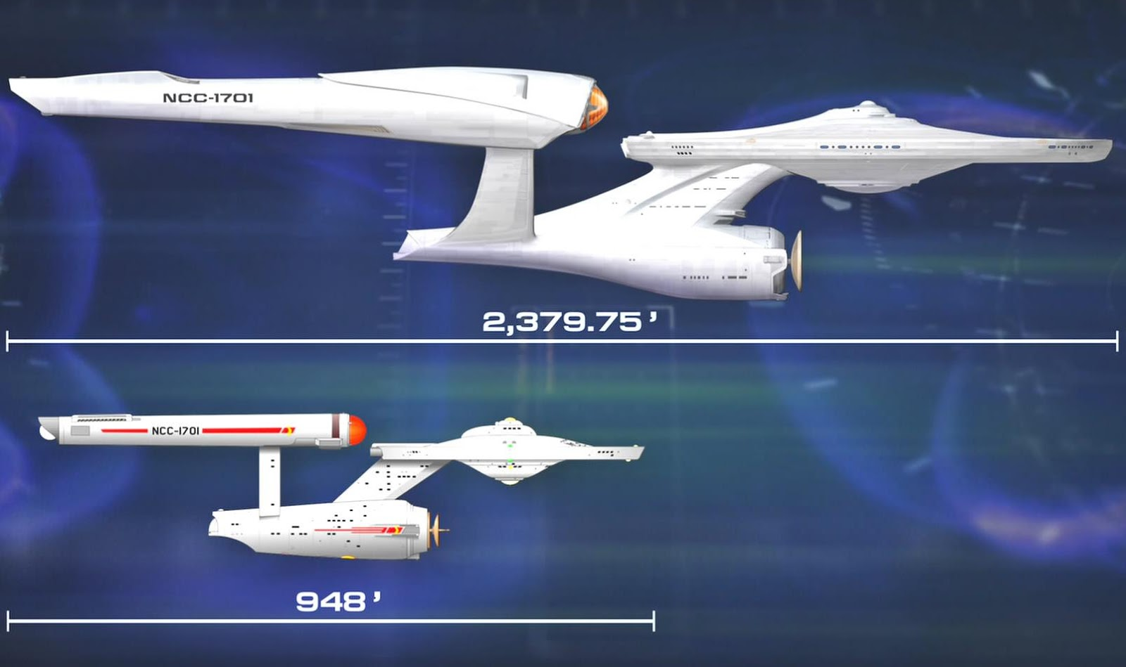 Faulty Size Comparison On Star Trek 2009 Blu Ray