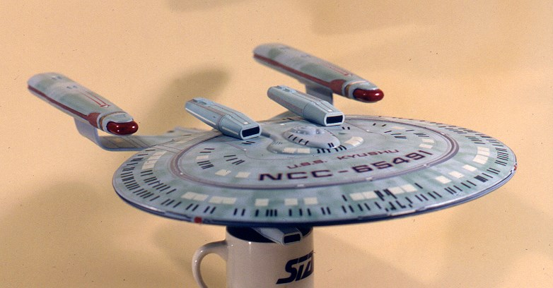 Eaglemoss New Orleans Class Star Trek USS Kyushu