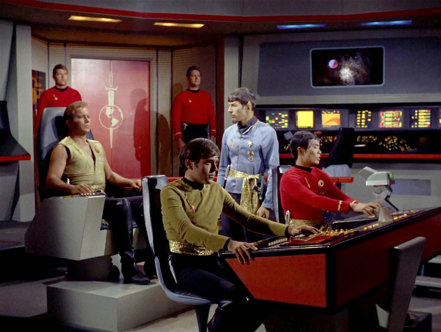 Ex Astris Scientia The Evolution Of The Tos Captain S Chair