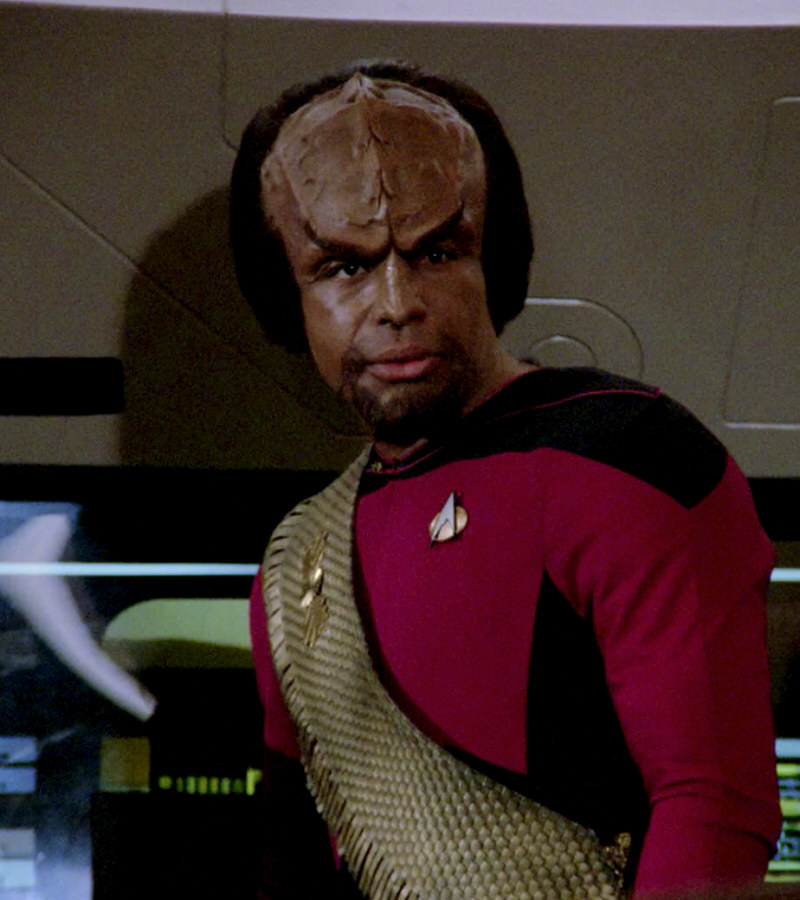 Worf and dax start dating
