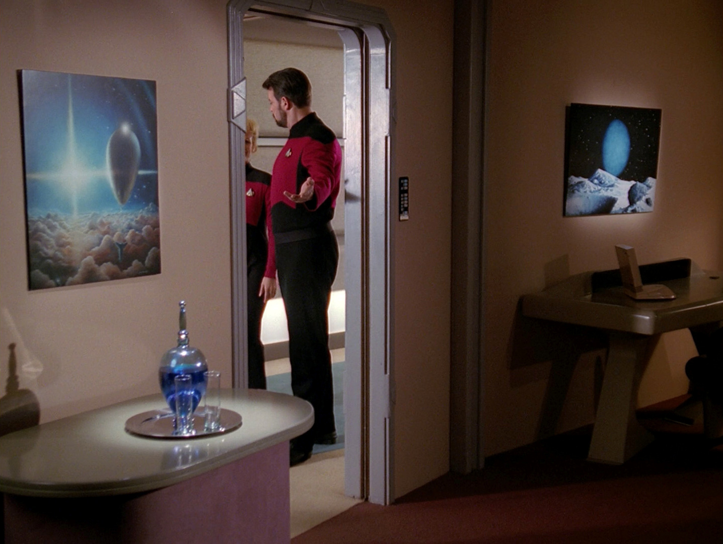 Ex Astris Scientia E Art In Star Trek The Next Generation