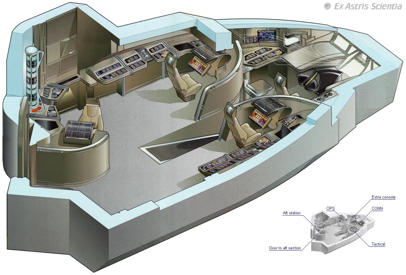 Ex Astris Scientia Galleries Starfleet Bridge