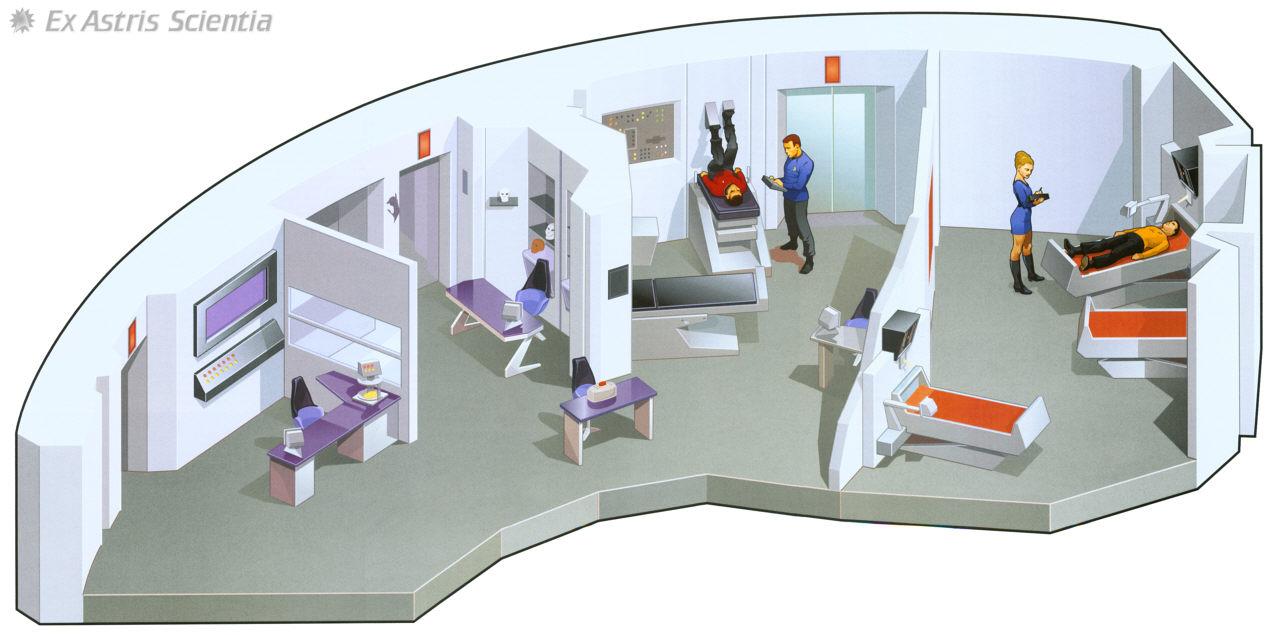 Ex Astris Scientia Galleries Original Enterprise Interiors