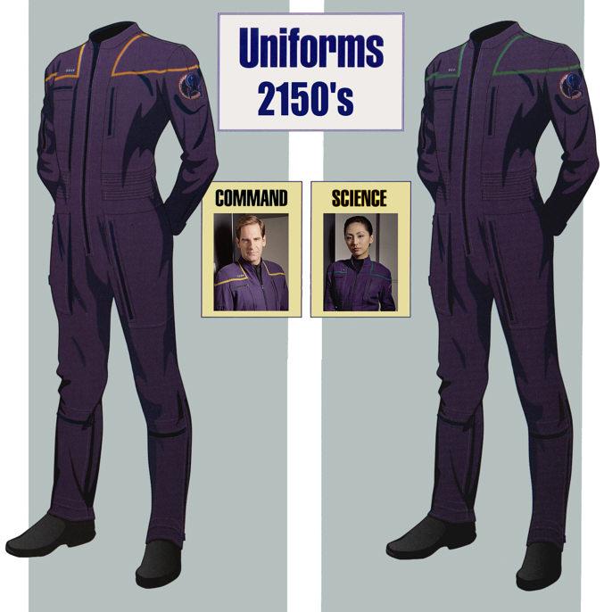Opinion, Star trek enterprise space suit