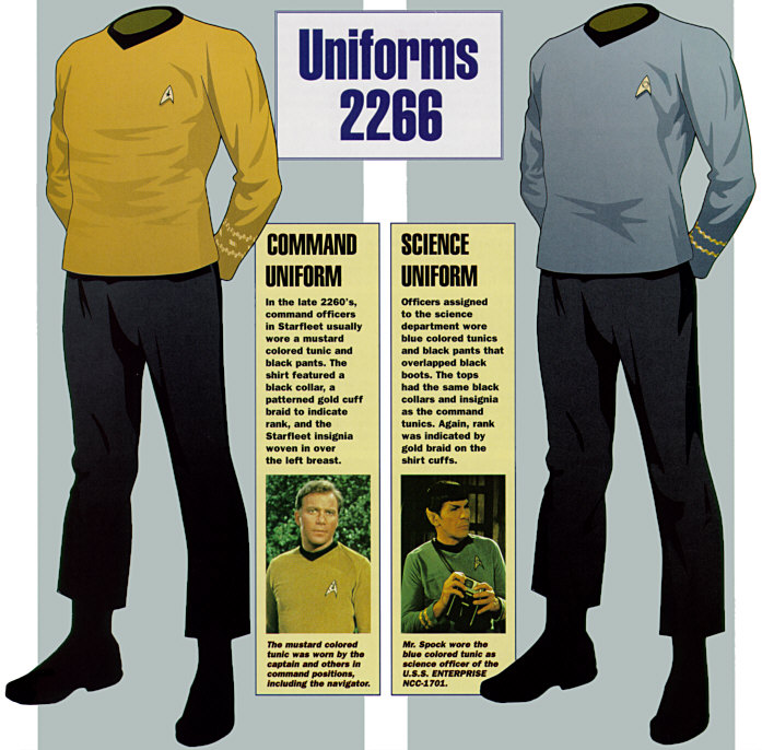 http://www.ex-astris-scientia.org/inconsistencies/uniforms1.htm