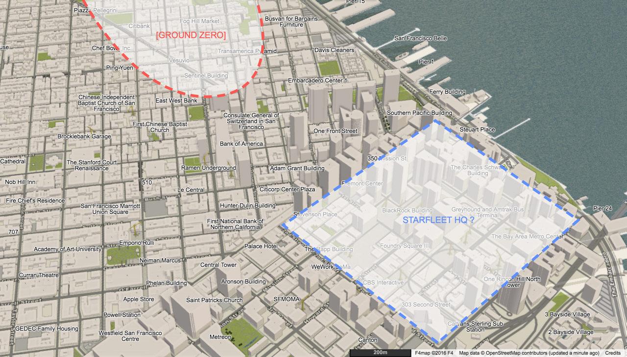 Rider Information Map Market Street Railway San Francisco Tour - Nyc map ground zero