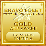 Bravo Fleet Gold Web Award