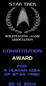 Star Trek Constitution Award