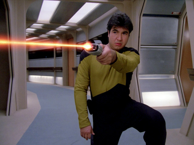 Hero Starfleet Type 2 (Boomerang) Phaser from various Star