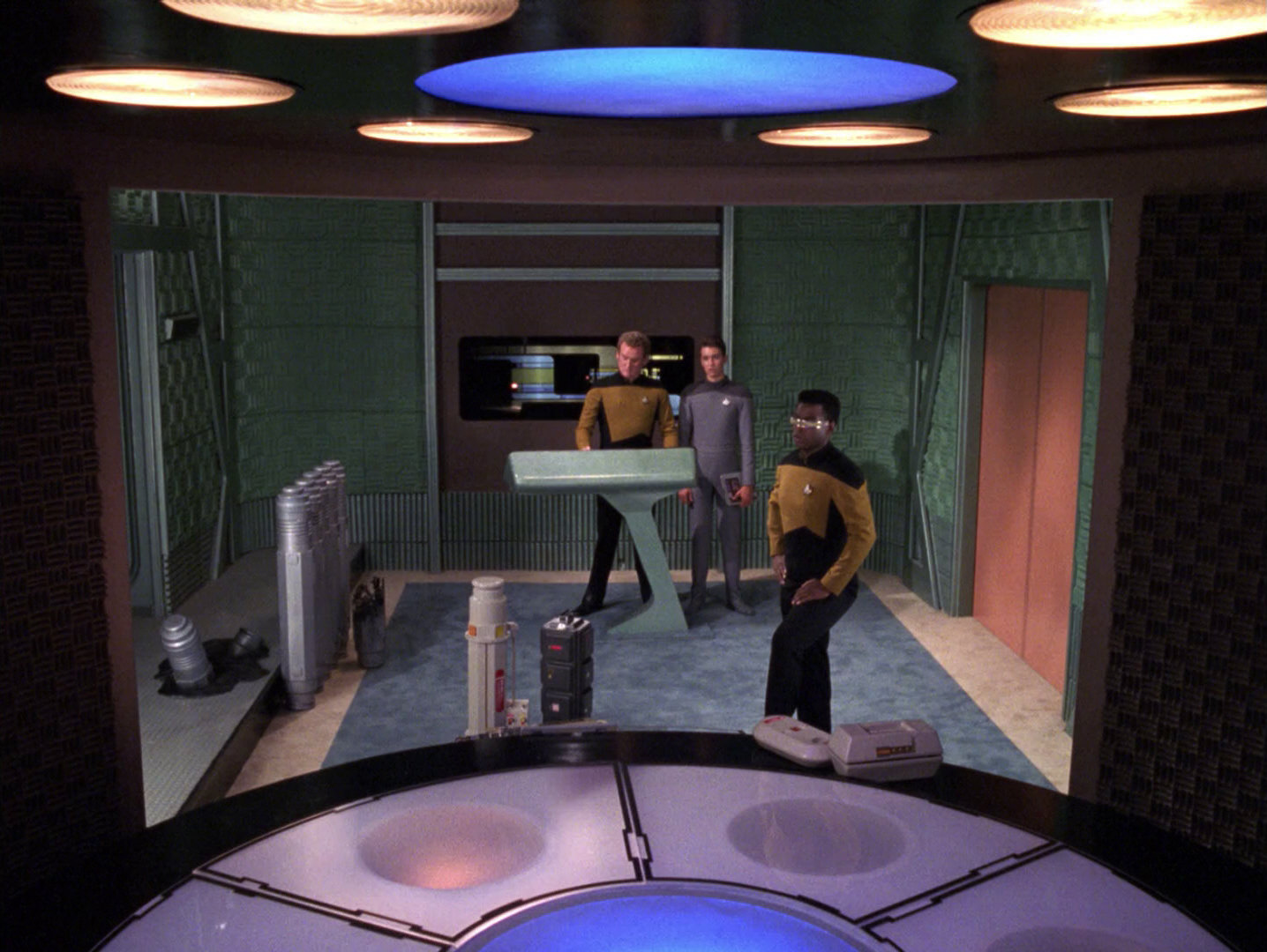 Ex Astris Scientia Acoustic Panels As Wall Coverings In Tng