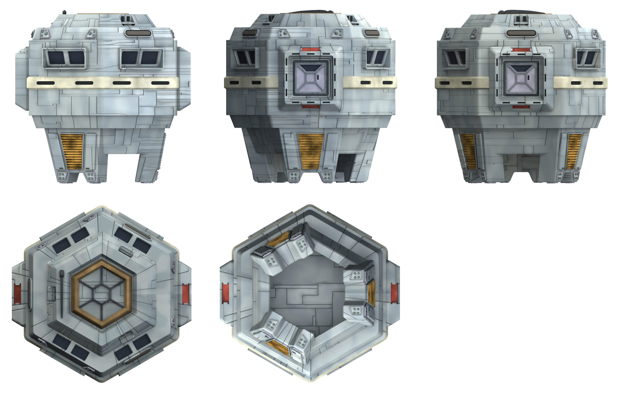 Tmp Quot Cheap Escape Pod Containers Turned Into Colony