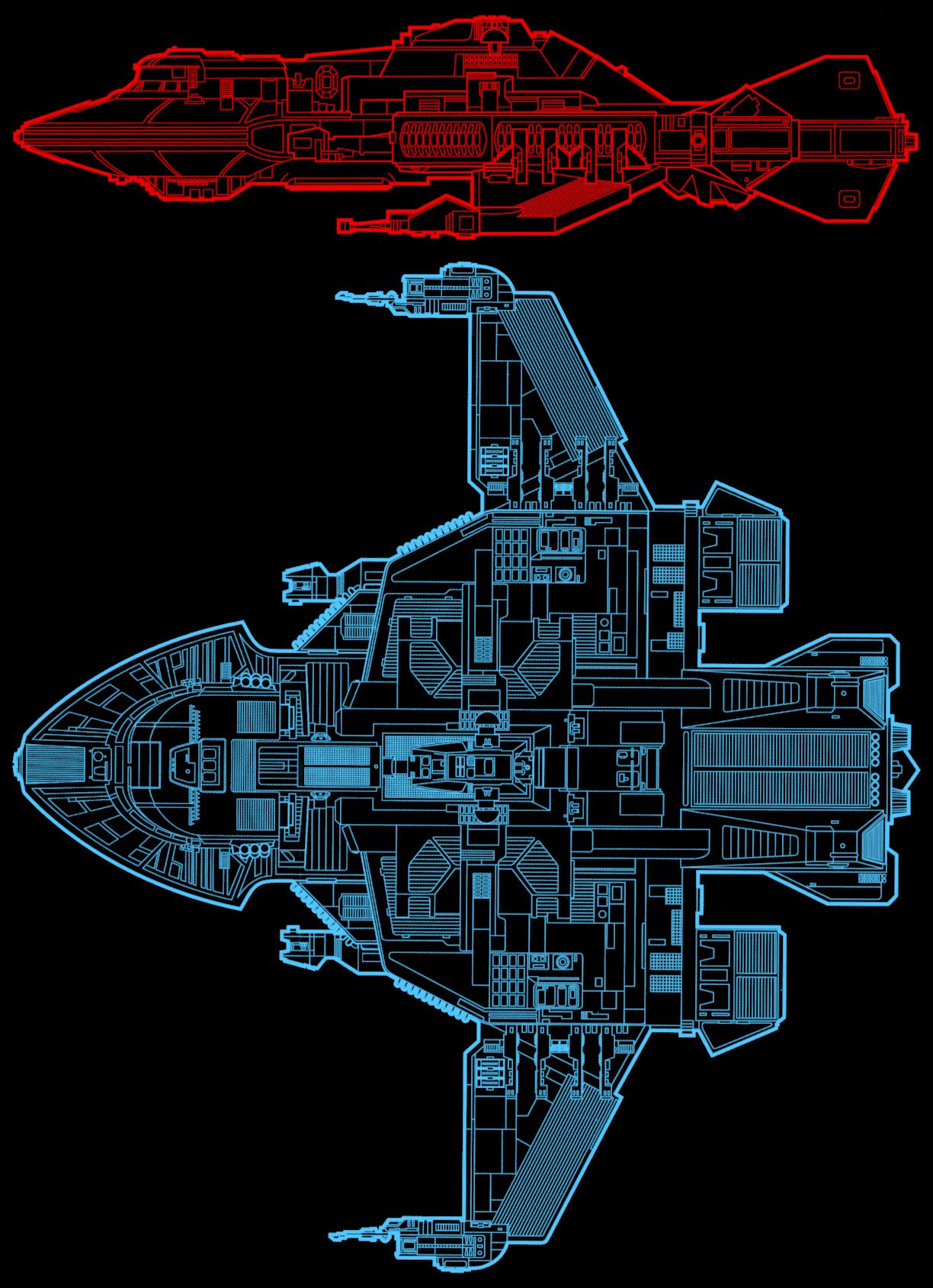 Ex Astris Scientia Voyager Inconsistencies Star Trek Engineering Schematics Fact Files