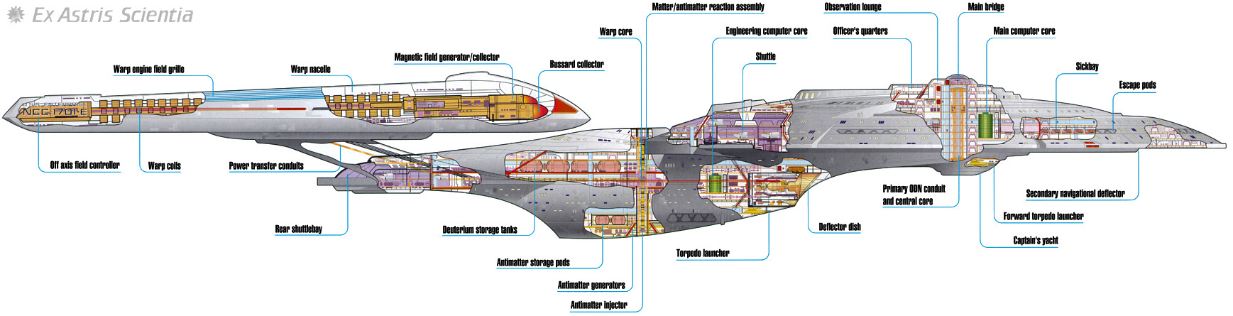 Ex Astris Scientia - Starship Gallery - Sovereign on cylon fighter schematics, starbase schematics, mecha schematics, space schematics, train schematics, macross sdf-1 schematics,