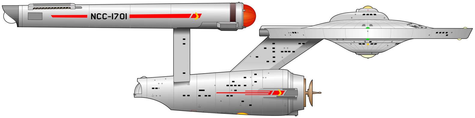 Ex Astris Scientia - TOS Era Ships (2200-2260)