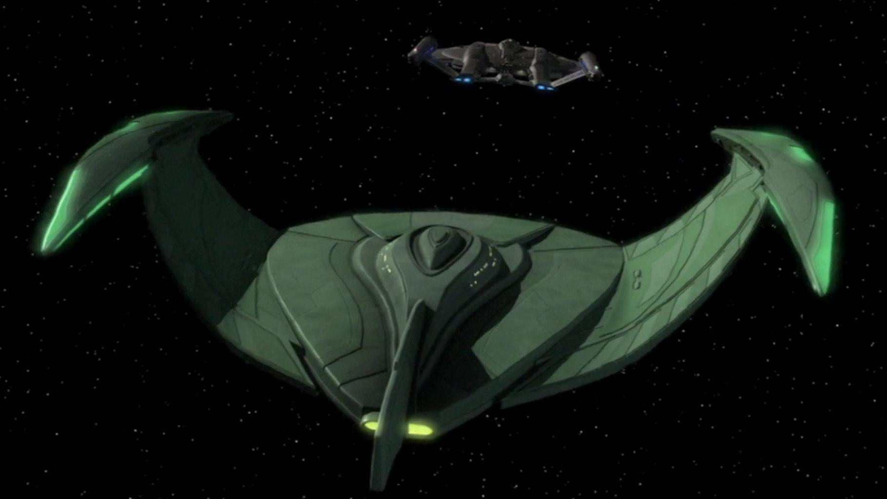 Romulan Ships 1  John Eaves designed the