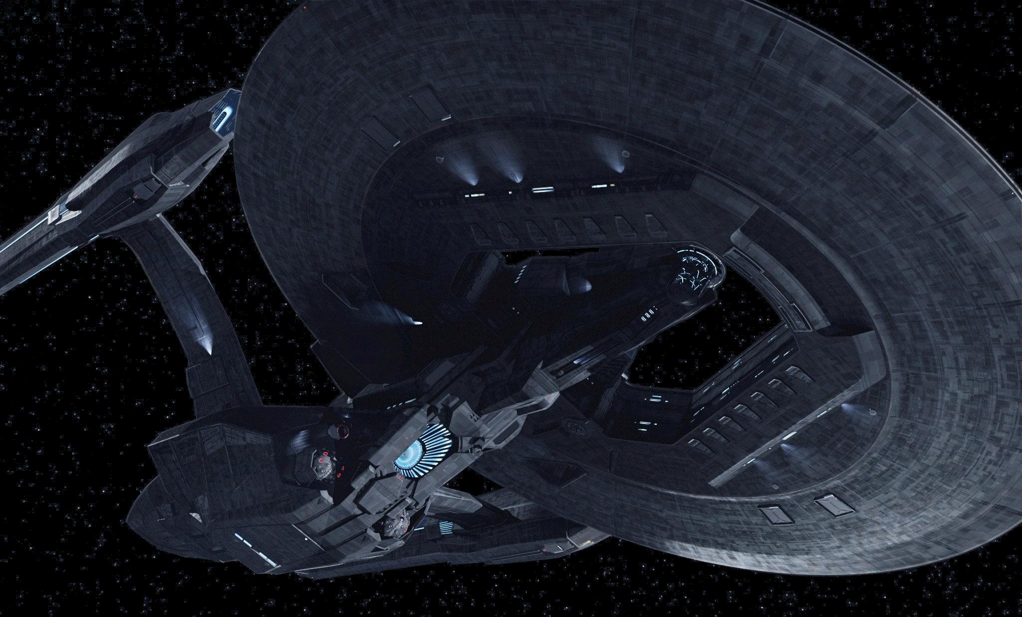 Klingon Ship Into Darkness Ex Astris Scientia - A...