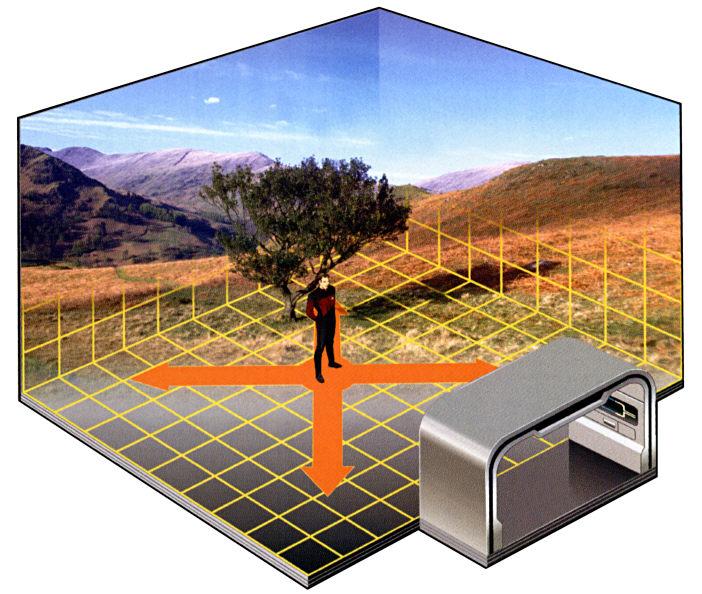 Virtual Bedroom: Transporter, Replicator & Holodeck